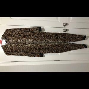 Forever 21 Leopard Union Suit